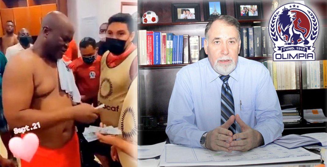 Olimpia abogado Concacaf