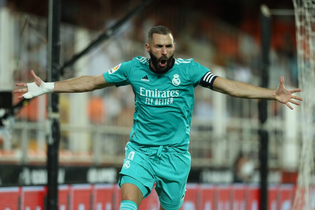 Vinicius Benzema Madrid Valencia