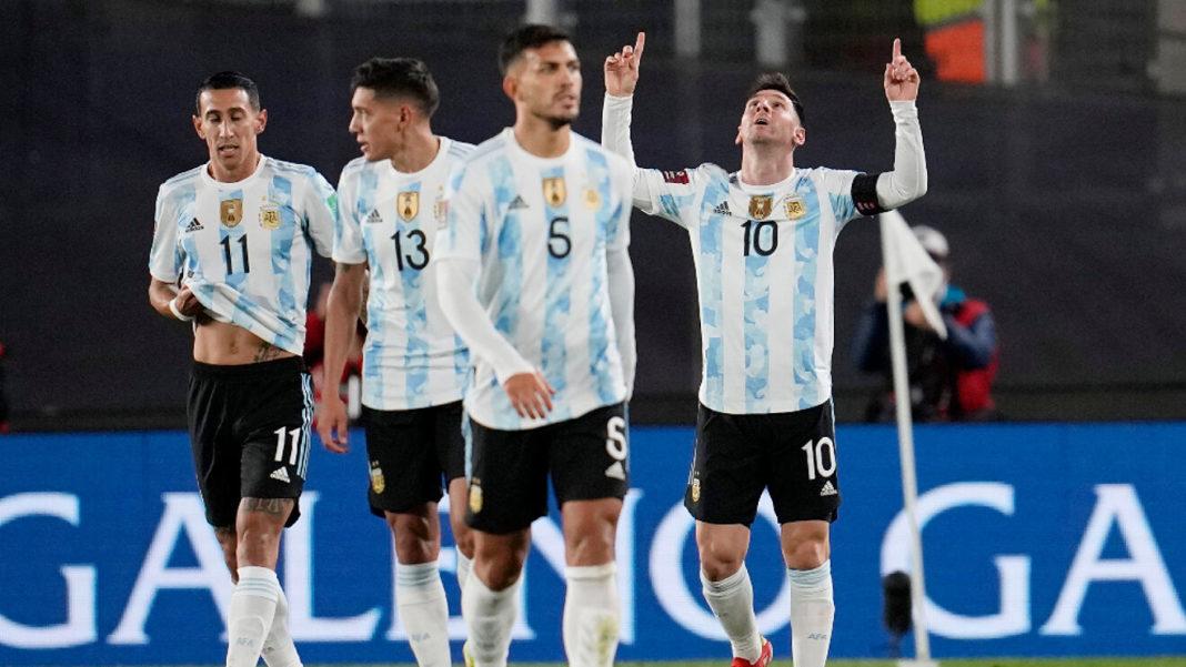 messi argentina eliminatorias sudamericanas