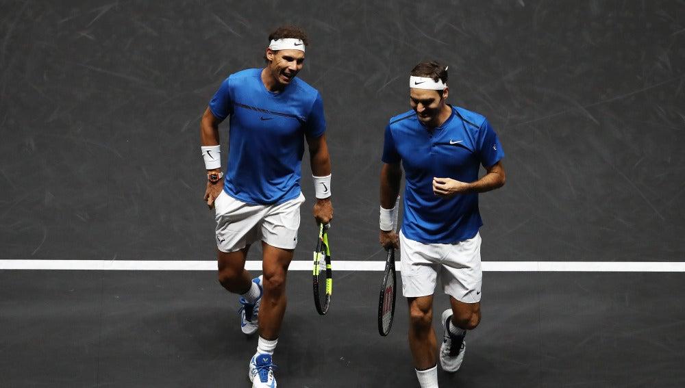 Nadal Federer Laver Cup