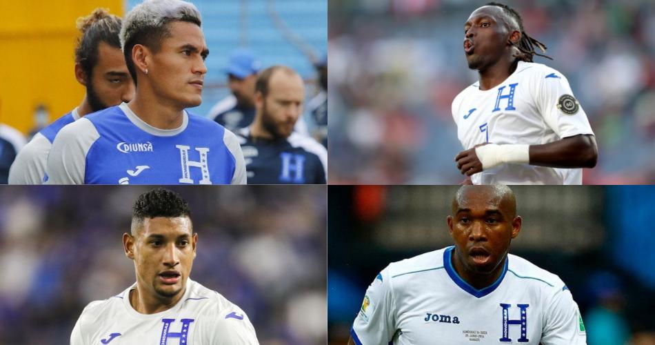 Jugadores Honduras