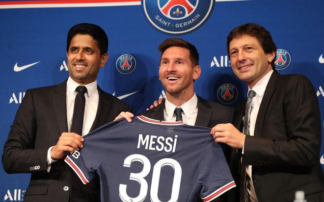 Leonardo contrato Messi